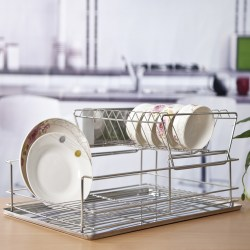 2015-New-Dish-Drying-Rack-Kitchenware-Saver-Bowl-Support-Frames-Drainer-Dish-Rack-Tier-Dinnerware-Plates